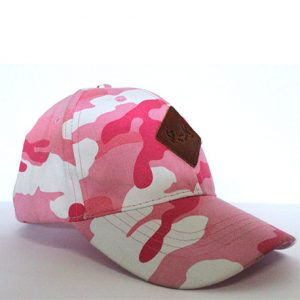 Spook Gear – Pink Camo Leather patch Dad Cap